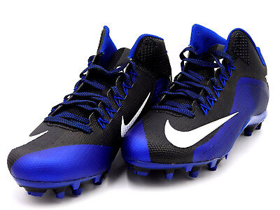 05d9c6e20c2 NIKE Alpha Pro 2 Football Lacrosse Shoe Cleats Blue Black Size 14 Men  729444-014