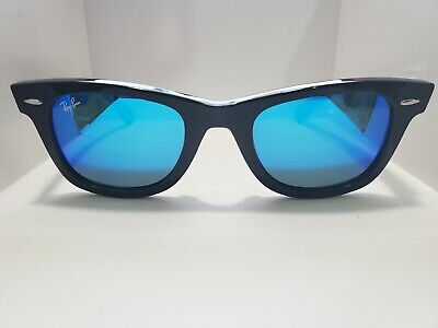 BRAND NEW Ray-Ban Original Wayfarer RB2140 901/17 50mm Black Frame Blue (Rayban Original Wayfarer)