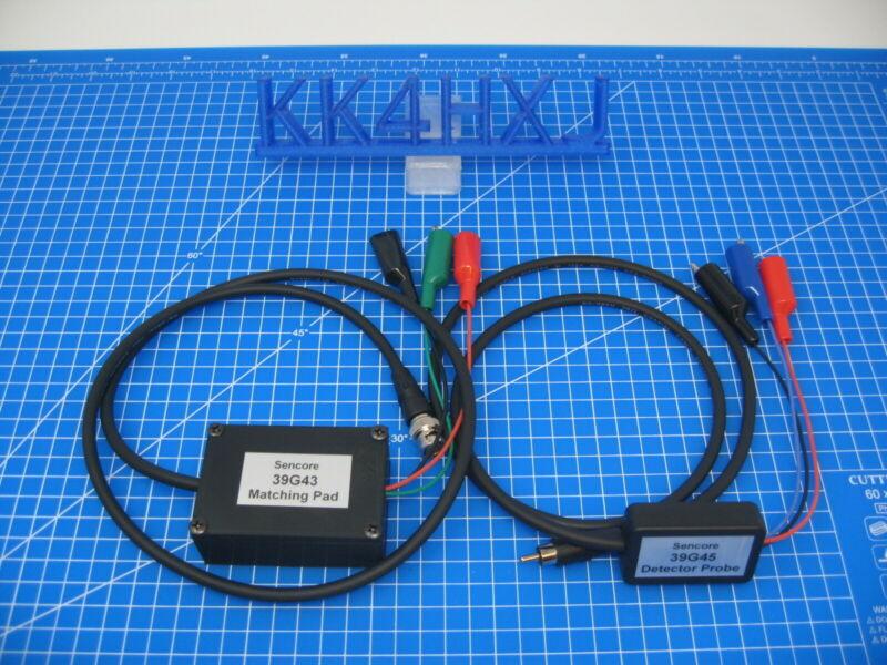 Sencore SG165 - Replacement Lead Set - 39G43 Matching Pad & 39G45 Demodulator