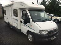 Fiat Ducato roller team motorhome lhd 4 berth fixed bed