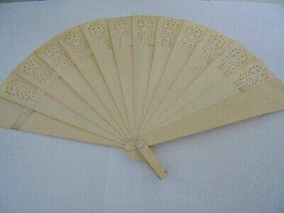 oid durchbrochen alt 13 cm vintage fan (Vintage-fan)