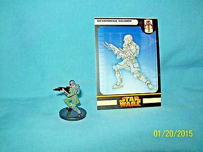 WotC Star Wars Miniatures Human Mercenary, RotS 46/60, Fringe, Uncommon