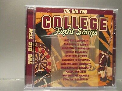 College Fight Songs by Various Artists (CD,1996, K-Tel) Brand New