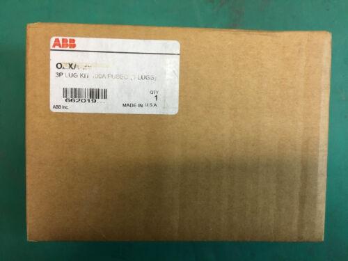 Lot (2) ABB OZXA-24 Terminal Lug Kit, 6 Lugs, 14-2/0 AWG  NEW OLD STOCK