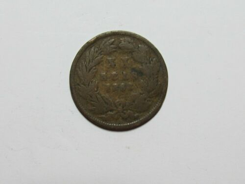 Old Portugal Coin - 1883 20 Reis - Circulated