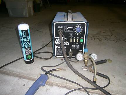 Mini MIG Welder - Gas and Gasless