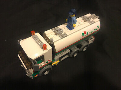 LEGO City Tanker Truck (60016) Fuel Truck Only W/Minifigure No Manual
