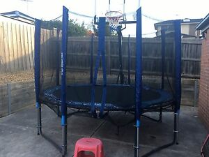 Trampoline poles and enclosure Grovedale Geelong City Preview