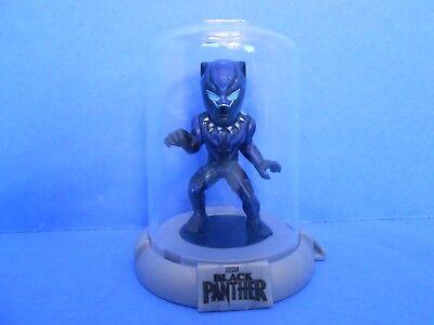 MARVEL COMICS BLACK PANTHER DOMEZ SERIES 1 BLUE GLOW BLACK PANTHER FIGURE