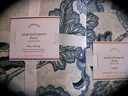 Pottery Barn King Duvet Shams