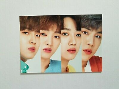K-POP WANNA ONE X INNISFREE OFFICIAL LIMITED WANNA ONE Photocard