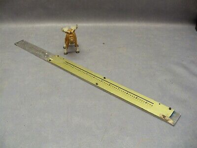 Optical Tooling 10 Scale Brass Transit Ke Wyteface Brunson 23 Ot-2500-305-2
