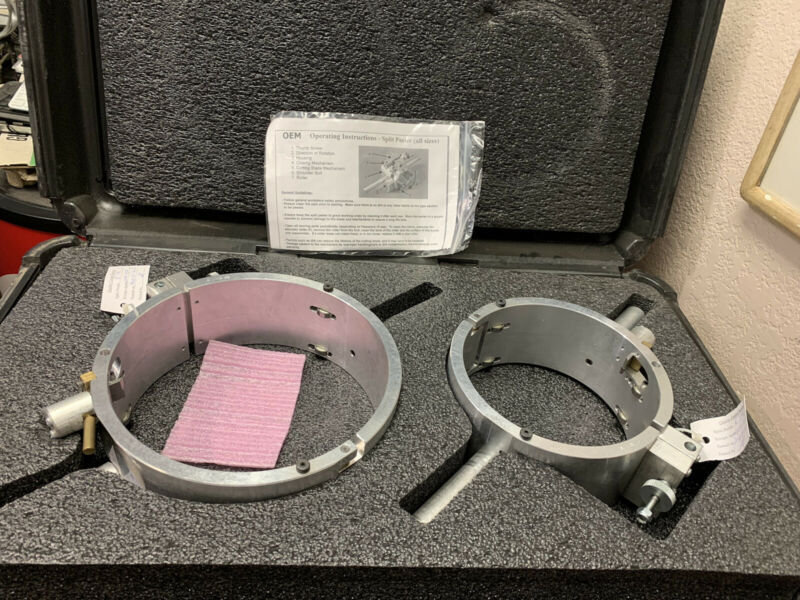 "Set Of 2- 6"" & 8"" IPS ELECTROFUSION PIPE SCRAPER PEELER"