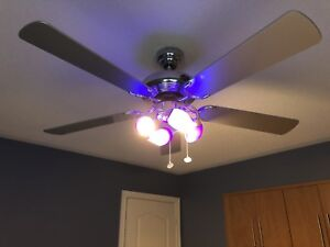 Harbor Breeze 5 Blade Ceiling Fan and Lights