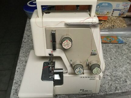 Full service Janome 3 Thread overlocker