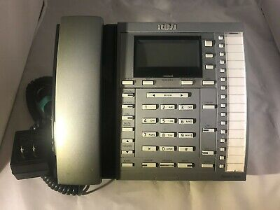 1 Rca Executive Desk Top Phone-telecom System With Display Speaker And Handset