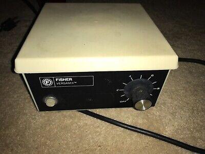 Fisher Scientific Versamix Model 115 Lab Stirrer 0.34 Amp 60hz