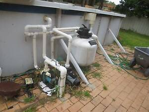 pool pump. solar heating pump. sand filter Caves Beach Lake Macquarie Area Preview