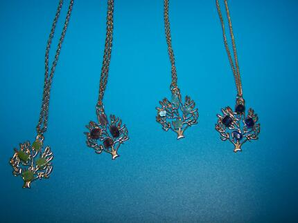 gemstone tree of life necklaces Grafton Clarence Valley Preview