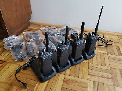 Motorola DP4400 x 2 and DP4400e x 2 (4 total) UHF Digital Radios Walkie Talkies
