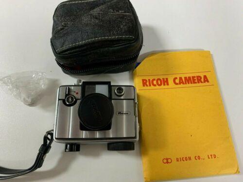 Vintage Ricoh Auto Half SL Film Camera With Original Case