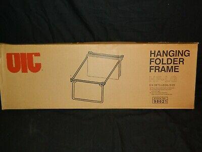 Oic 6 Pack Legal Size Hanging File Steel Folder Frames 98621