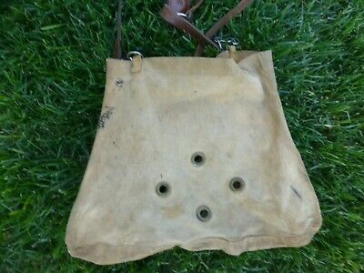 24bcf5abdaa362 VINTAGE GEORGE LAWERENCE GAME BAG FISHING CREEL PORTLAND OREGON LEATHER  STRAP