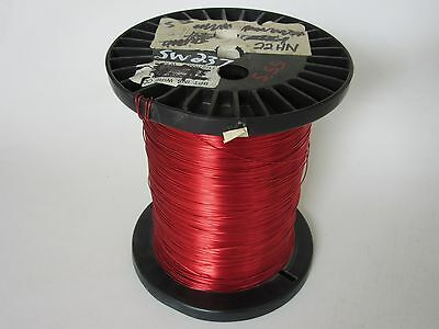 22 Awg  5.55 Lbs. Heavy Enamel Coated Copper Magnet Wire