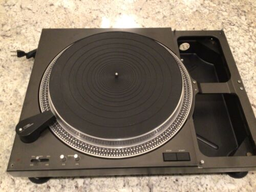 Vintage Technics SL-1100 Turntable in Good  Condition without Original Tonearm