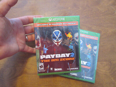 Payday 2  The Big Score  Xbox One Videogame Brand New Factory Sealed