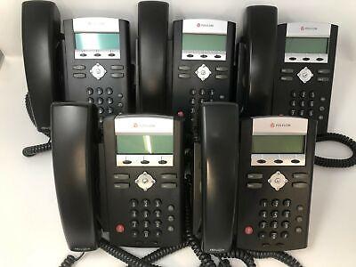 Polycom Soundpoint Ip 335 Voip Phone - Lot Qty 5.