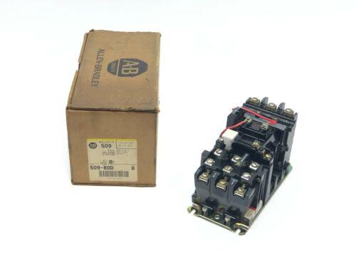Allen Bradley 509-BOD Ser. B Starter Full Voltage Size 1 120VAC Coil