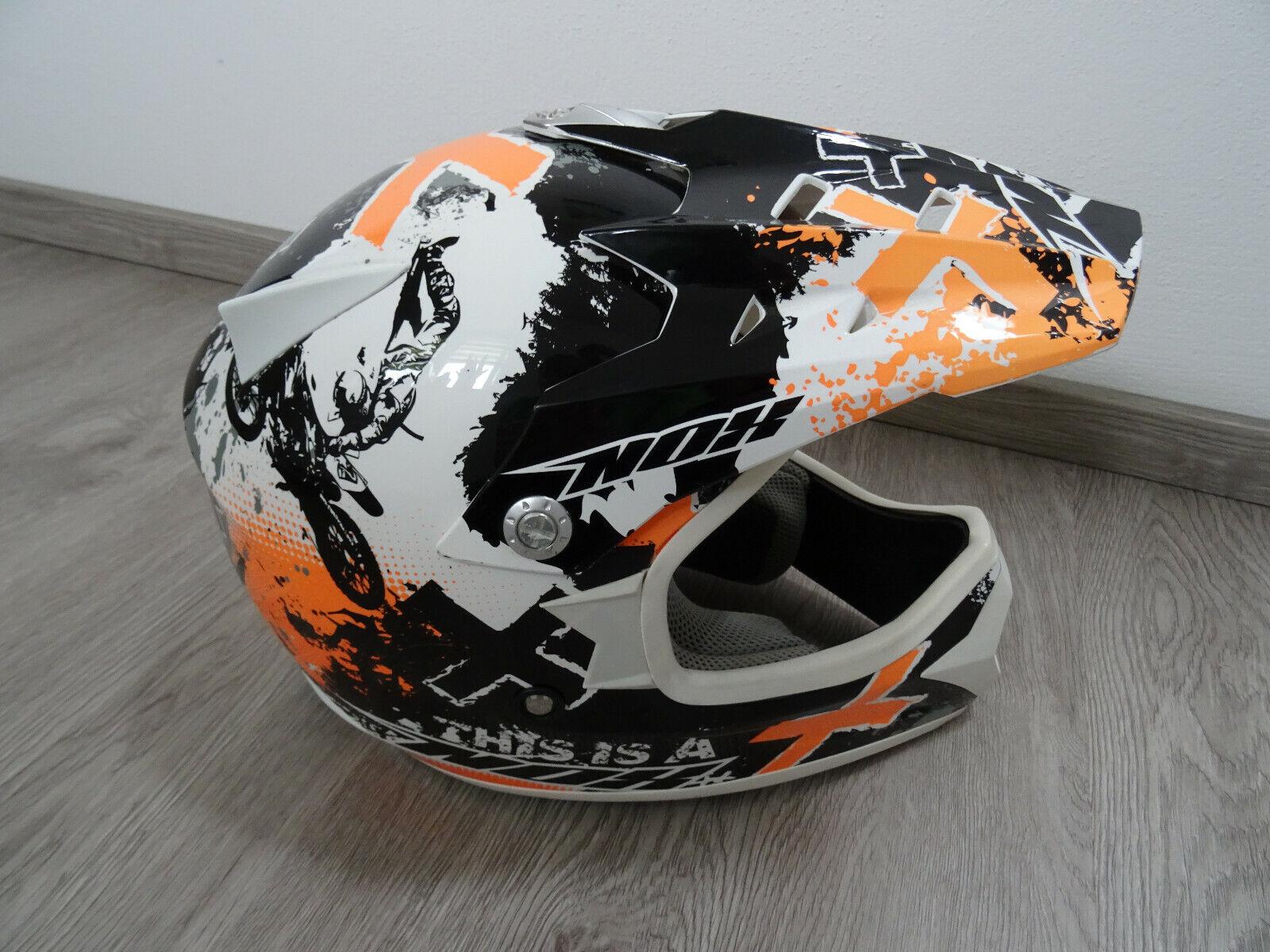 NOX Motocrosshelm Crosshelm Kinder M (51 - 52cm)