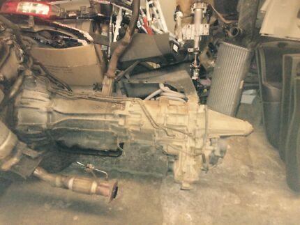 D40 Navara auto gearbox Nissan Bethania Logan Area Preview