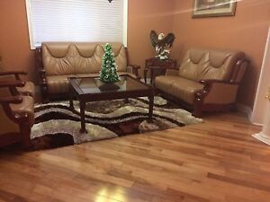 Living Room Leather Sofa's