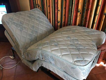 Plega advanced adjustable bed King single