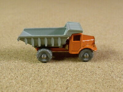 OLD VINTAGE LESNEY MATCHBOX # 6A QUARRY TRUCK
