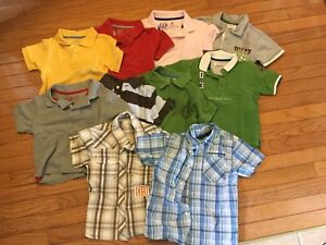 Boys size 3 summer tops lot