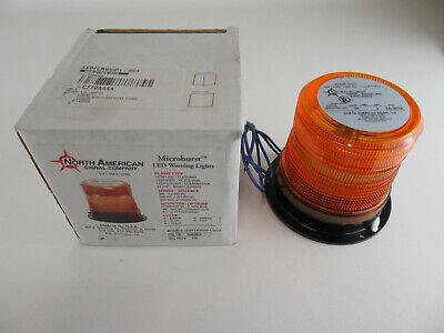 New North American Signal Co Ledflrv35p1-aca Microburst Led Warning Light