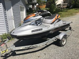2008 Sea-Doo RXP X w/trailer and cover