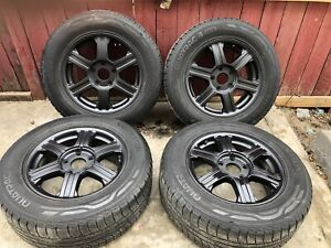 Rims with all season tires
