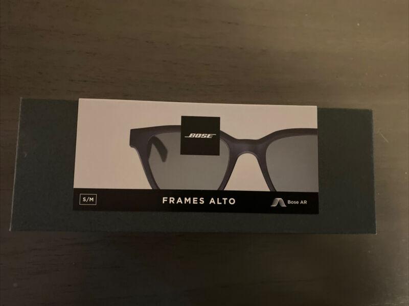 Bose Frames Alto Audio Smart Sunglasses - Black S/M complete open box$