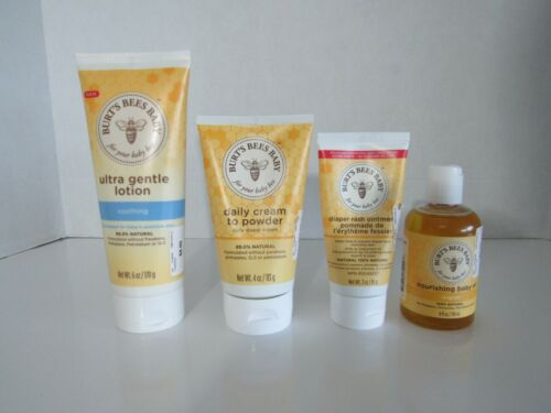 Burts Bees Baby Diaper Rash Lotion Oil Products New