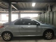 Peugeot 206 convertible - automatic - silver Braddon North Canberra Preview