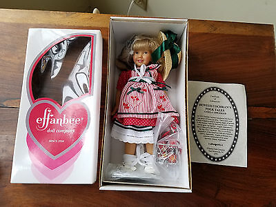 Effanbee Doll Company Dewees Cochran's Folk Tales Angela Appleseed Doll (NEW)