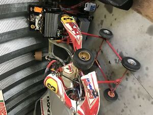 Birel Race Kart. Looking to trade or 1500 firm