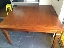 Dining table square 8 seater wood timber Wilsonton Toowoomba City Preview