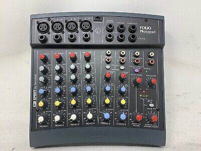 2 Genuine OEM Soundcraft Spirit Mixer//Mixing Board Replacement Knobs--Gray//Black