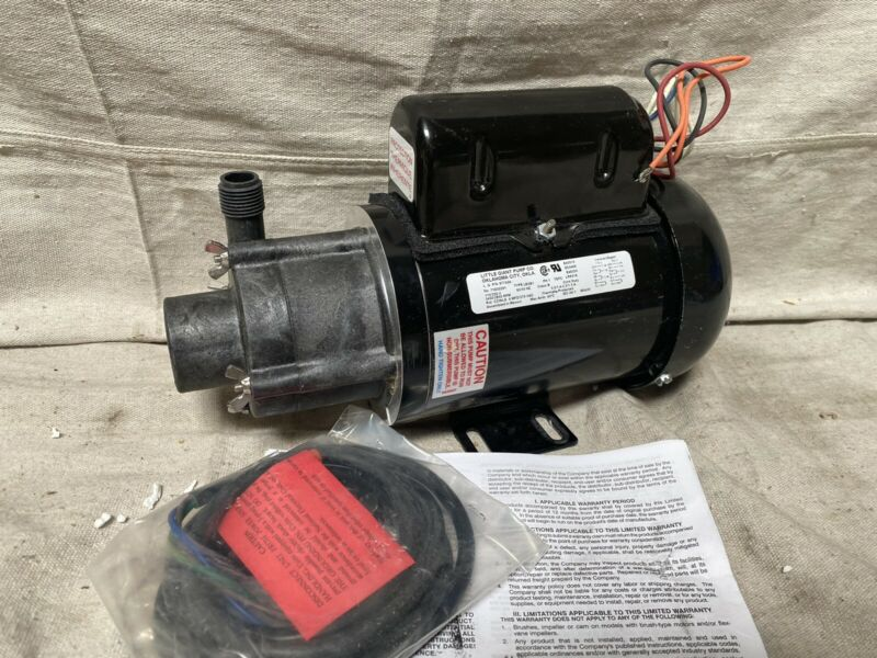 LITTLE GIANT TE-5-MD-HC 1/8 HP PPS 115/230V Magnetic Drive Pump 29.3 ft Max Head