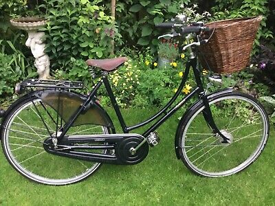 """Ladies Pashley Princess Sovereign City Bicycle - 20"""" Frame - 5 Gears - Black"""